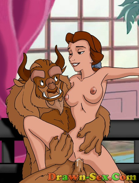 hardcore disney cartoon xxx. Beauty and the Beast porn whores love to go ...