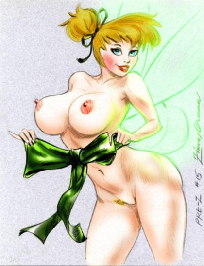 Disney Fairies Nude